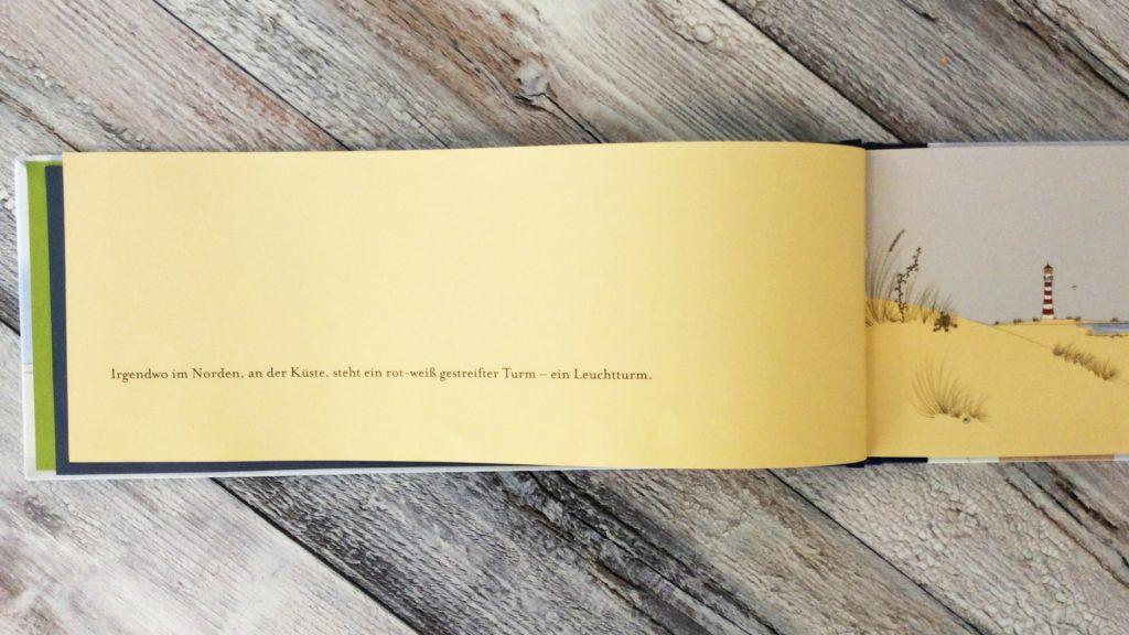 """Blick ins Buch """"Fiete Anders. Eine Reise mit dem Wind"""" von Miriam Koch"""