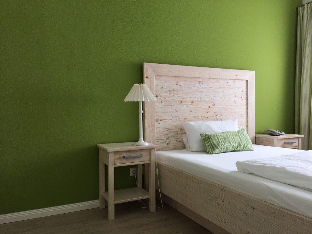 Die Zimmer in Mein Inselhotel auf Amrum sind in Amrumer Farben gehalten
