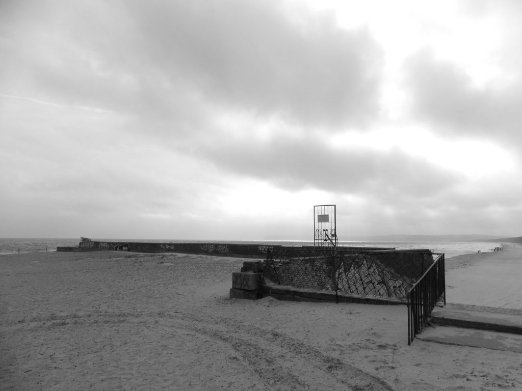 Prora Strand Terrasse Ruine