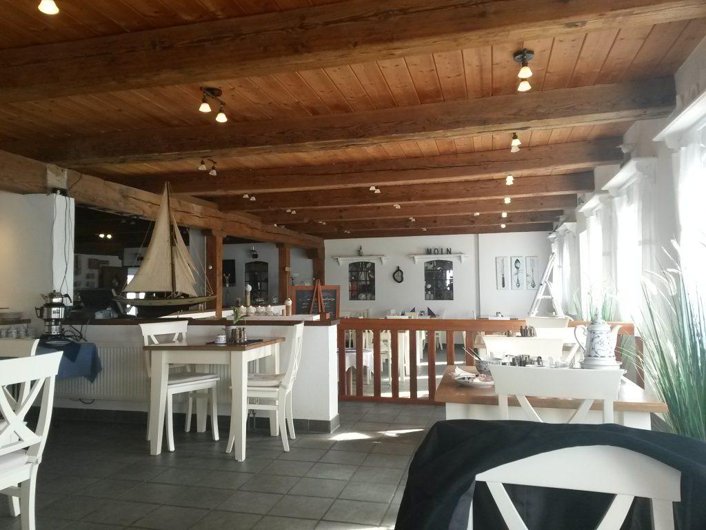 Frühstücksraum im Pharisäerhof auf Nordstrand