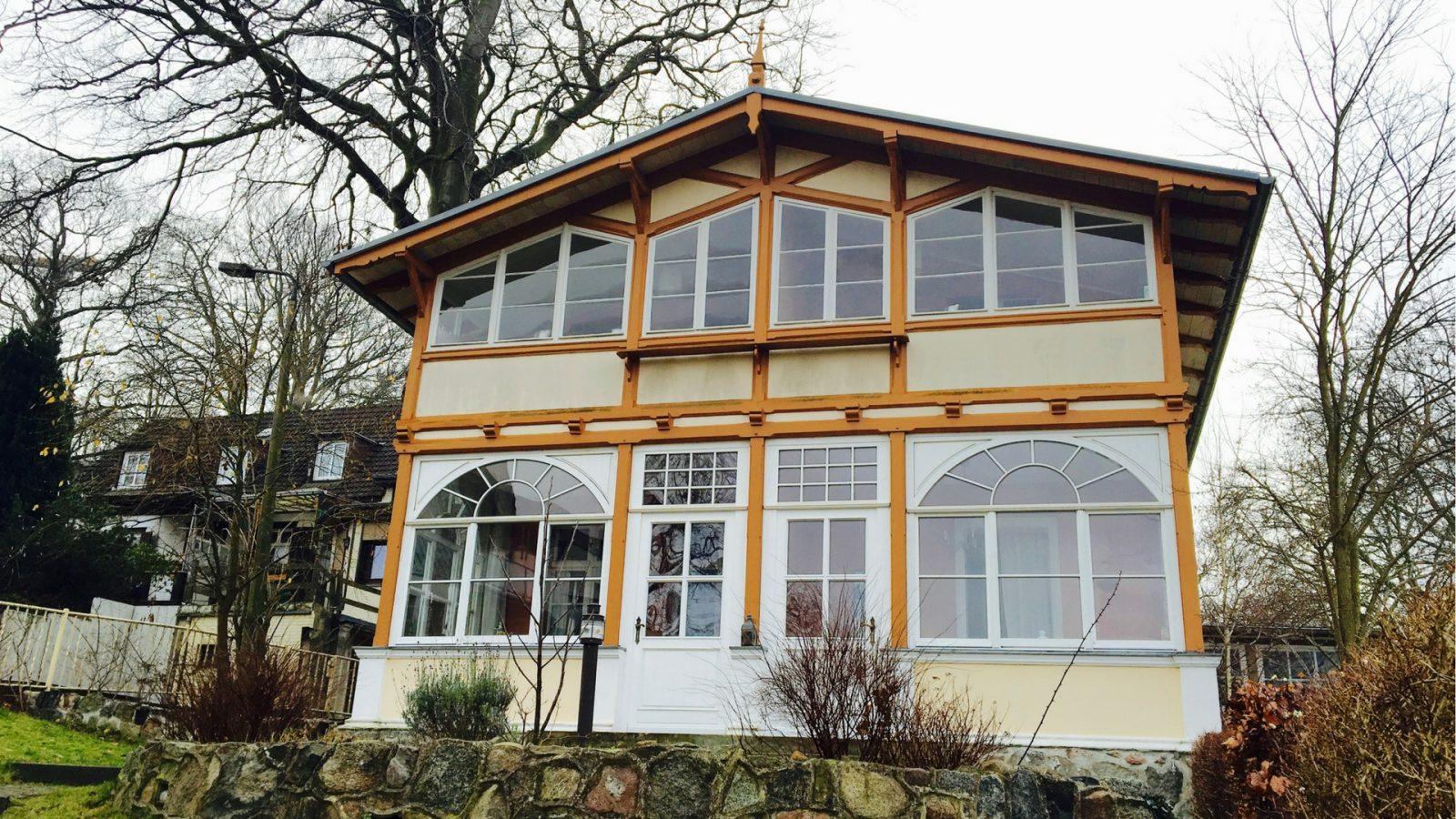 Das Haus Hedwig in Heringsdorf