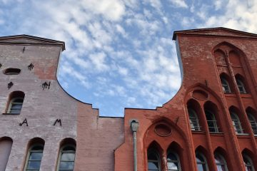 Giebelhäuser in Wismar