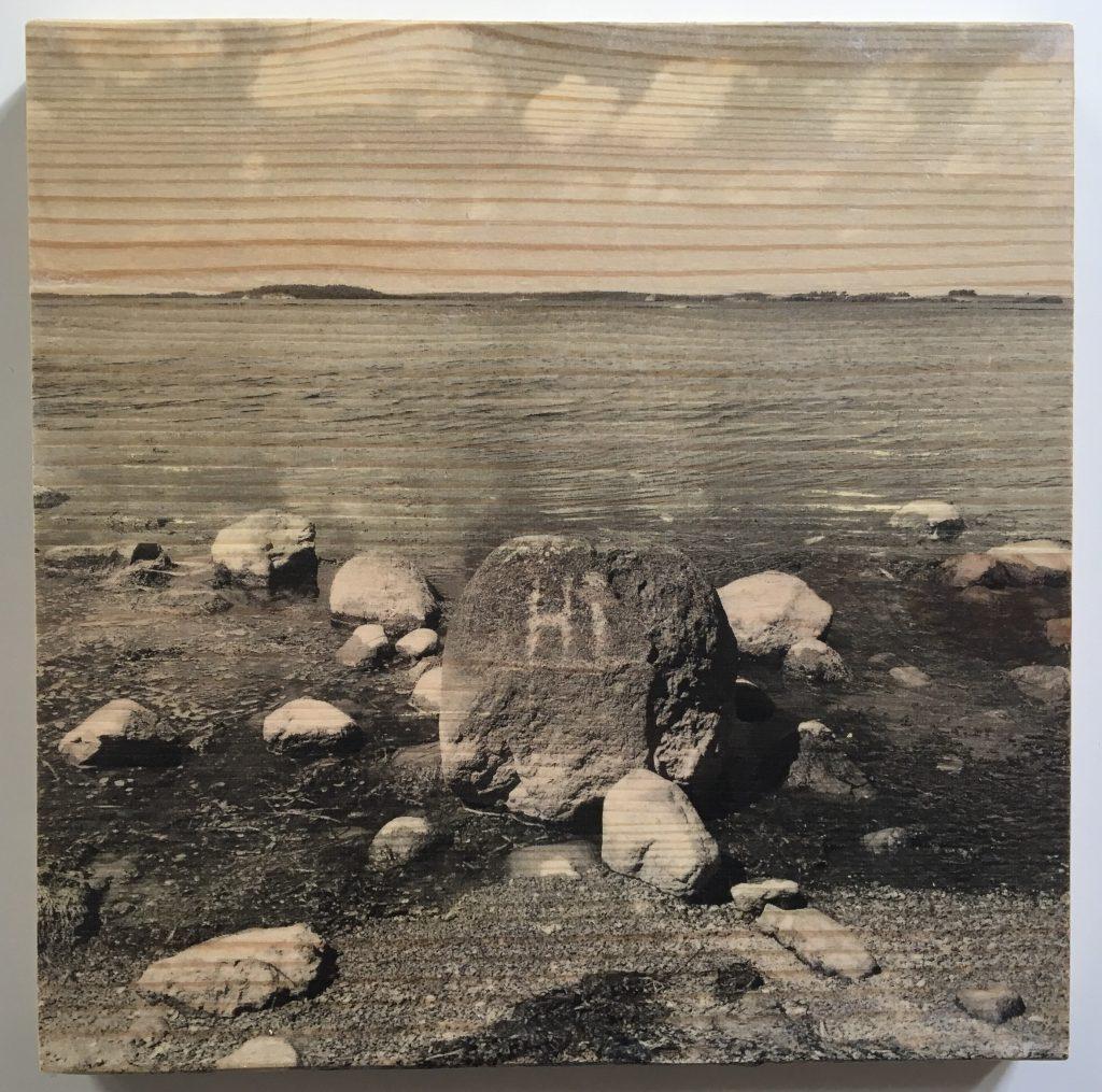 Fotos auf Holz transferieren mit Foto Potch, Motiv Rügen