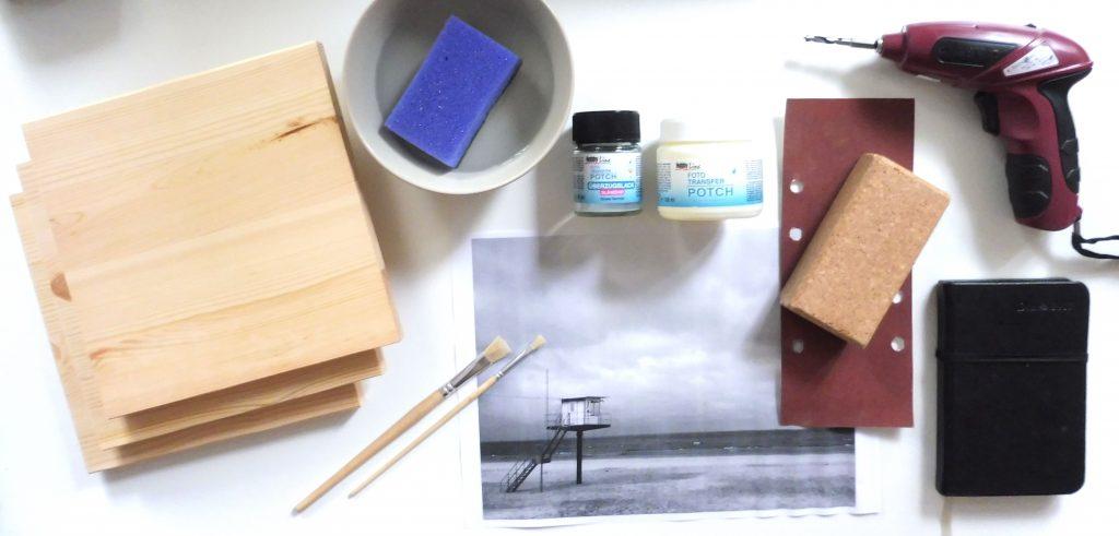 Foto auf Holz transferieren –das wird alles gebraucht