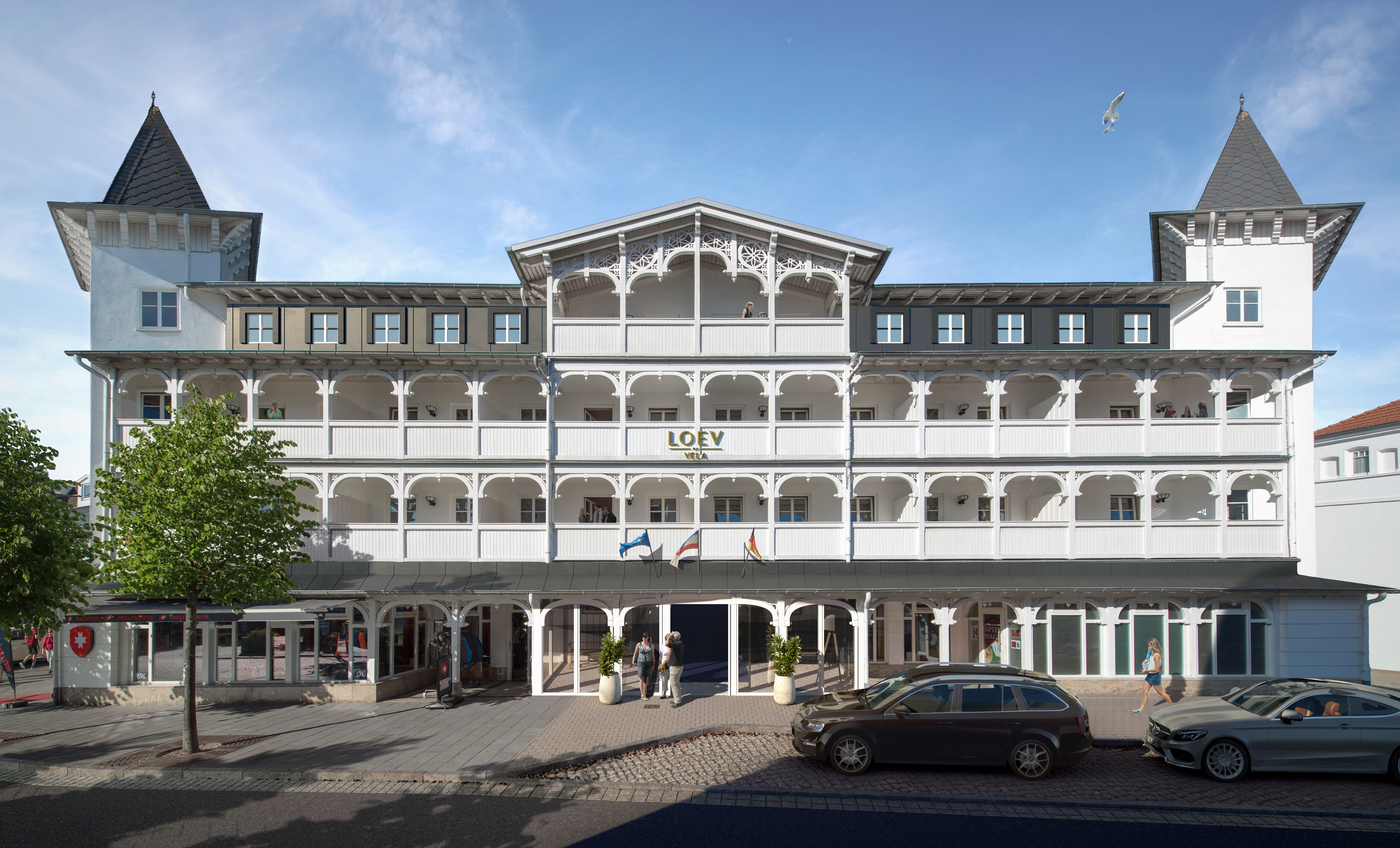 Hotel Loev Binz Fassade