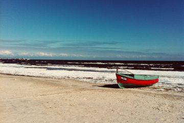 Winter an der Ostsee, Strand von Ahlbeck