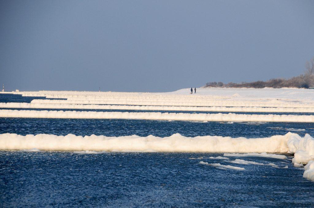 Gründe für Winter an der Küste