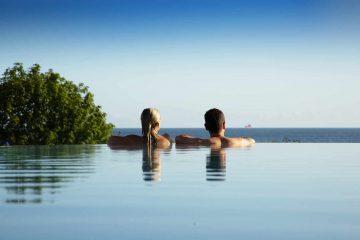 Infinity Pool vom Hotel Das Ahlbeck auf Usedom
