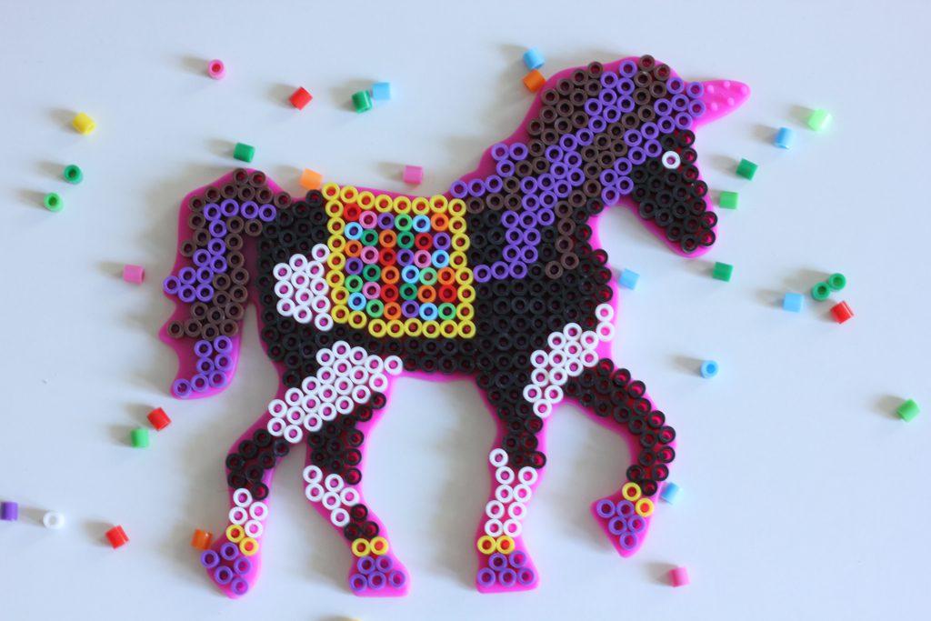 Bügelperlen Pferd