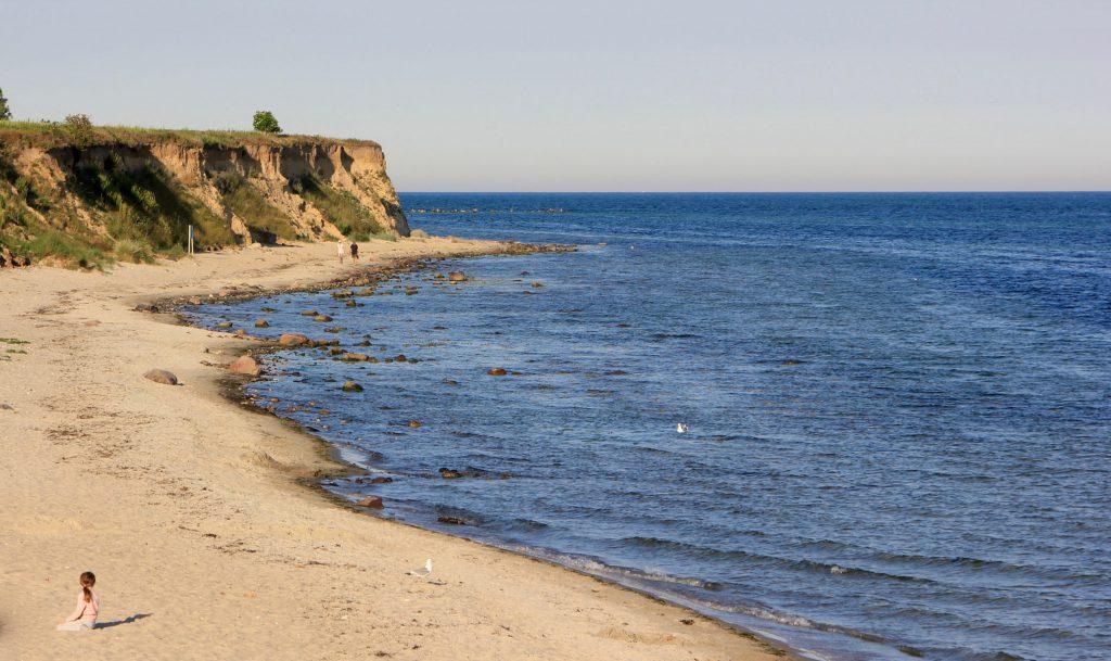 Strand auf Fehmarn bei Wulfen und dem Küselhof