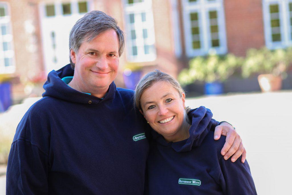 Andreas und Sonja Witt vom Küselhof auf Fehmarn