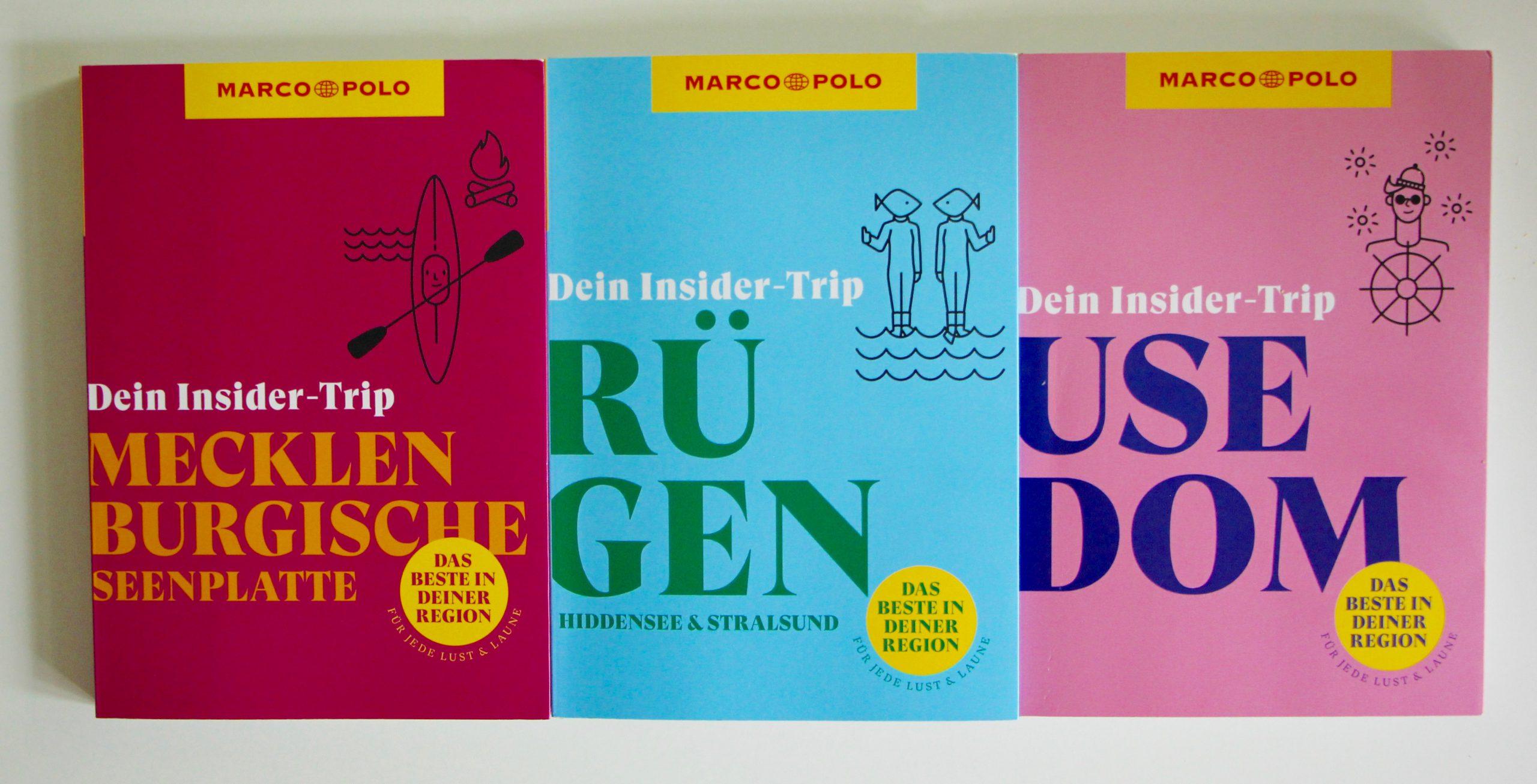 Marco Polo Reiseführer Insider-Trip Rügen Usedim Mecklenburgische Seenplatte