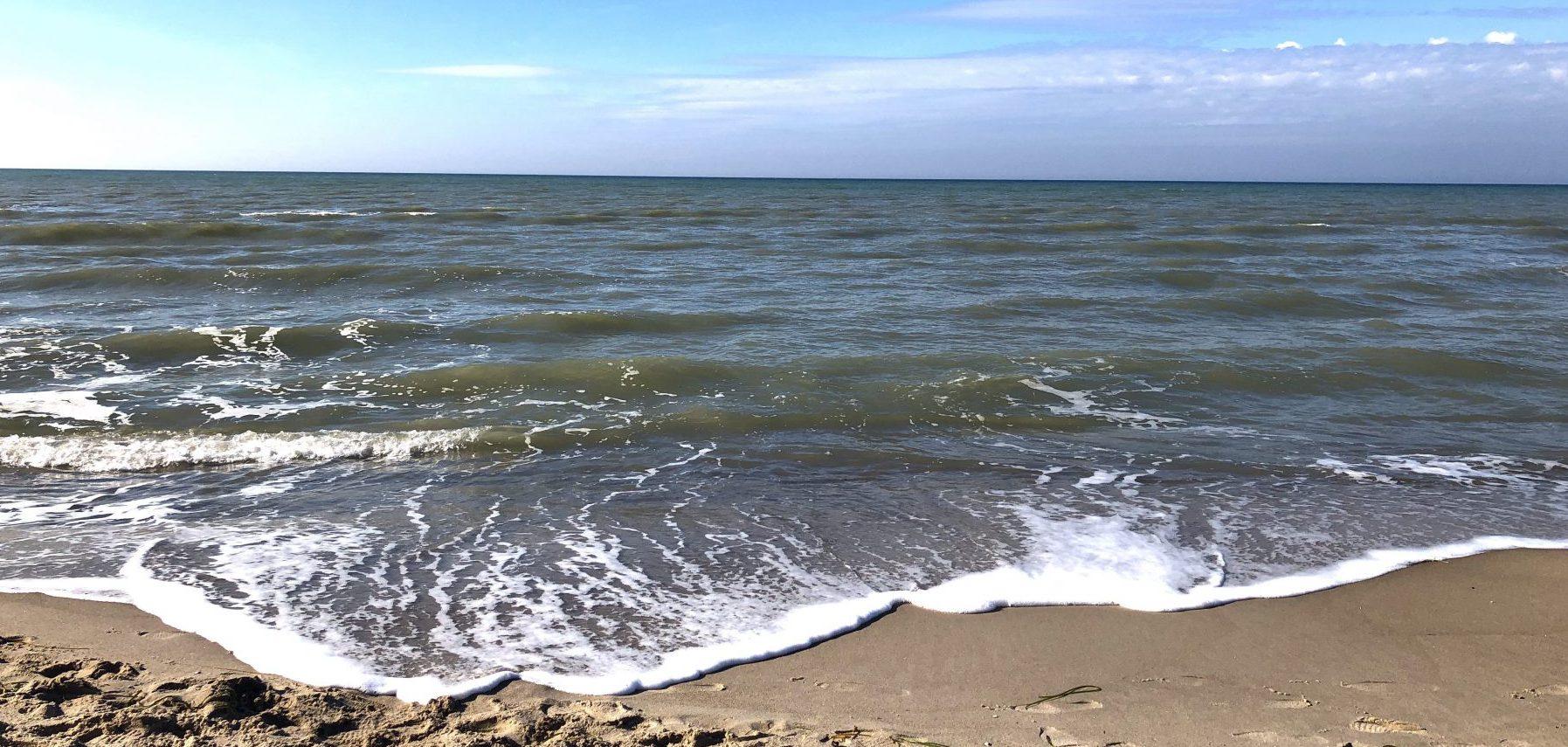 Die Ostsee am Weststrand auf dem Darß