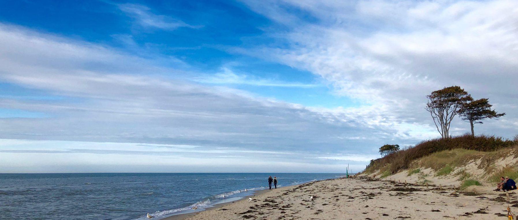 Strandspaziergang Weststrand Darss