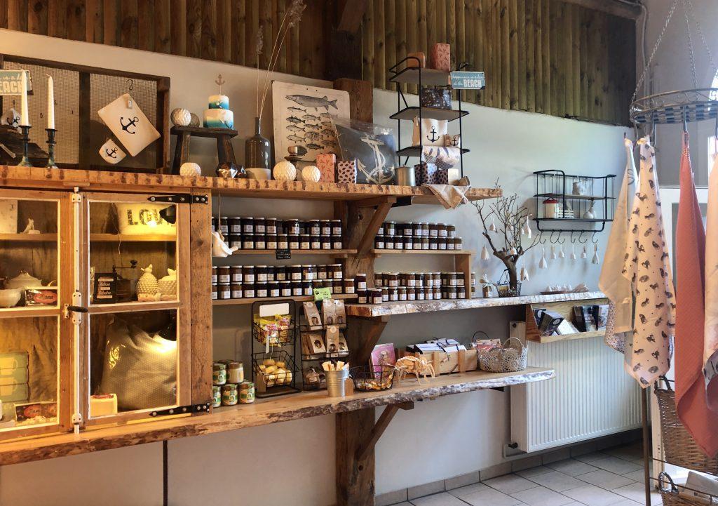 Shop vom Cafe Albertsdorf